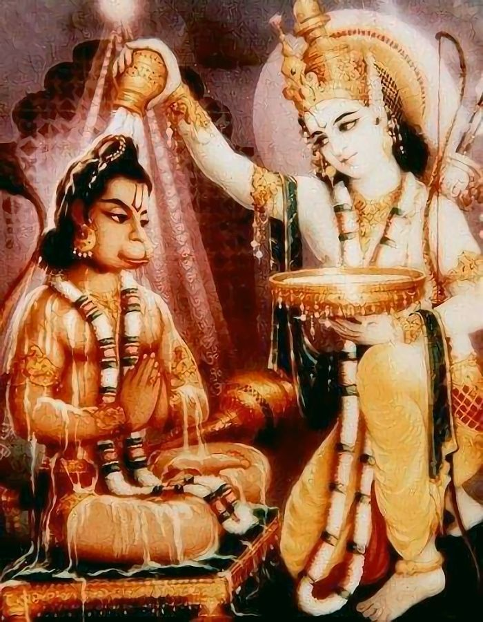 Hindu Cosmos - Hanuman Ram (via Pinterest: Haryram Suppiah )