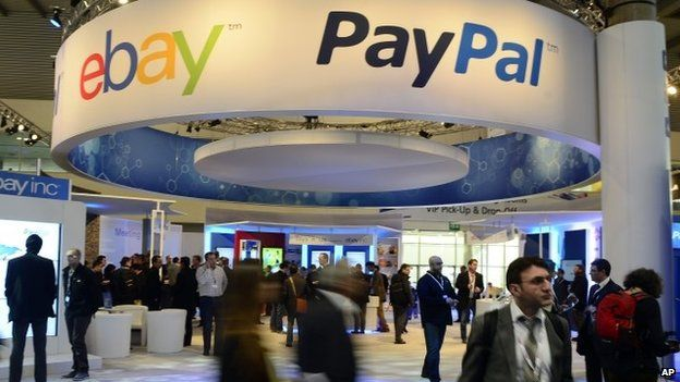 Spread News: eBay to split off PayPal business