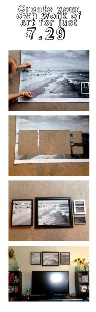 best 25 homemade frames ideas on pinterest homemade framed art homemade picture frames and. Black Bedroom Furniture Sets. Home Design Ideas