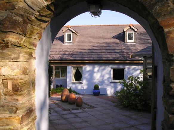 Camelford courtyard view