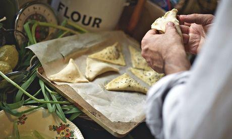 Ideal picnic fare: Yotam Ottolenghi's multi kale borek. Photograph: Julian Anderson for the Guardian