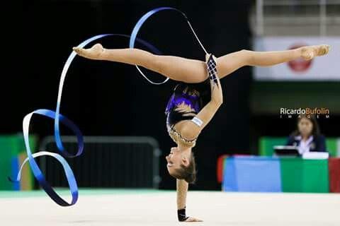 Ekaterina Volkova - FIN #fig #cbg #caixa #canon #gimnastics #gimnasia #ginastica #rhythmic #ritmica #finland #fin #ribbon #fita #cinta #rio2016 #olympic #sport #sportphotography #bufolin #rbufolin #volkova #ekaterina