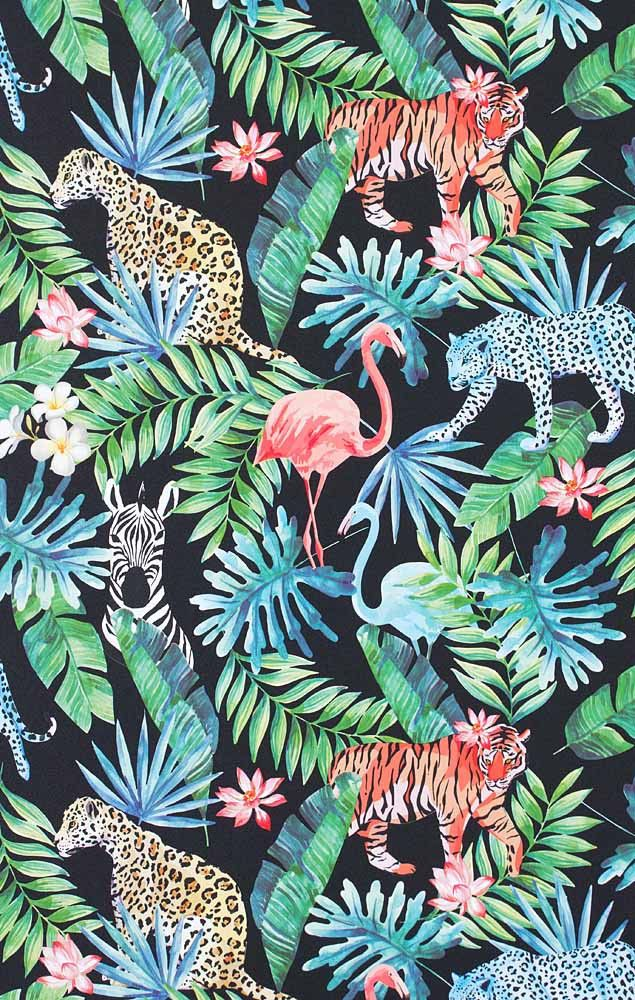 Papier Peint Intisse Savanna Multicouleurs Papier Peint Jungle