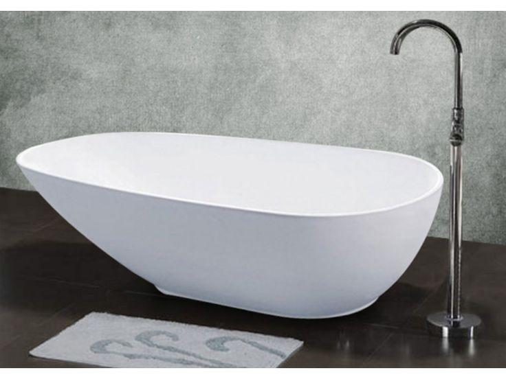 Vrijstaande badkuip AQUARELLA - 270 l - unieke vormgeving - 174 * 81 * 57 cm