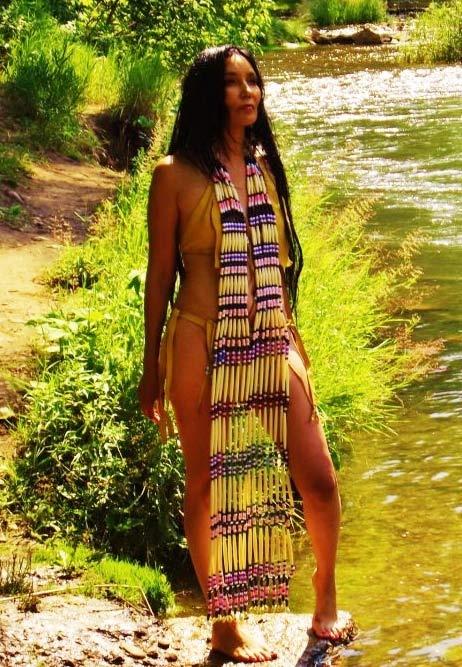 Native american bikini models