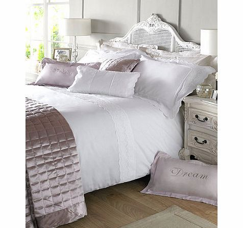 Bhs Holly Willoughby Aimee bedding, white 1868430306 This Holly Willoughby Aimee bed linen range has a lavish lace trim featured throughout the design. The matching quiltedsquarescushion and bedspreads in soft shell satin, together with theDreamand http://www.comparestoreprices.co.uk//bhs-holly-willoughby-aimee-bedding-white-1868430306.asp