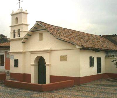 Foto de La Ermita del Humilladero en la Plaza del Chorro de Quevedo, Bogotá, Colombia