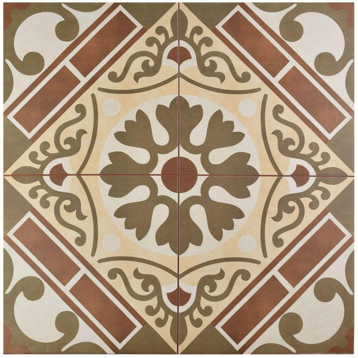 merola tile evasion rojo in x in ceramic floor and wall tile 111 sq ft case rojolow sheen