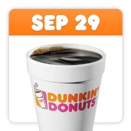 Check out all the chances for FREE Coffee on National Coffee Day! #freecoffee #NationalCoffeeDay