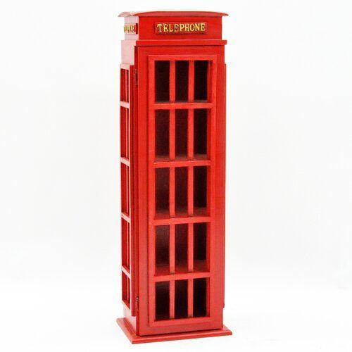 17 Stories Mucha Mail Telephone Multimedia Media Cabinet