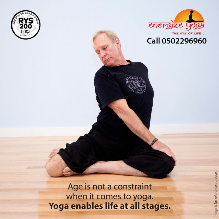 Yoga does not just change the way we see things, it transforms the person who sees - B.K.S Iyengar Imbibe Vitality and Health into Old Age with Yoga in Daily Life! Learn yoga from the experts. New batch for 55+ starting from Oct 1st | 6.30 pm. Call Now to Register 04 342 6468 | 050 22 96960 http://energize-yoga.com/ #EnergizeYoga #Goodhealthyoga #BurDubai #Dubai #UAE #LoveYoga #AncientYoga #Yoga #Meditation