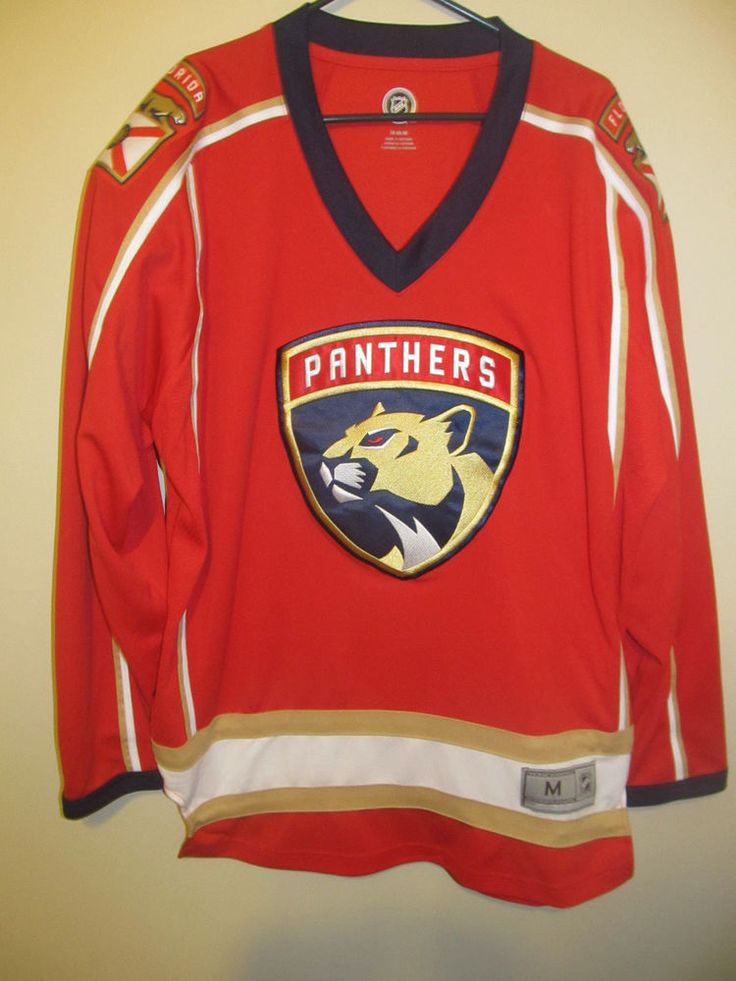 Florida Panthers Hockey Jersey - NHL Adult Medium #NHL #FloridaPanthers