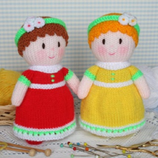 Dainty Dollies Free Knit Pattern PDF  http://www.jeangreenhowe.com/Images/Dainty_Dollies.pdf