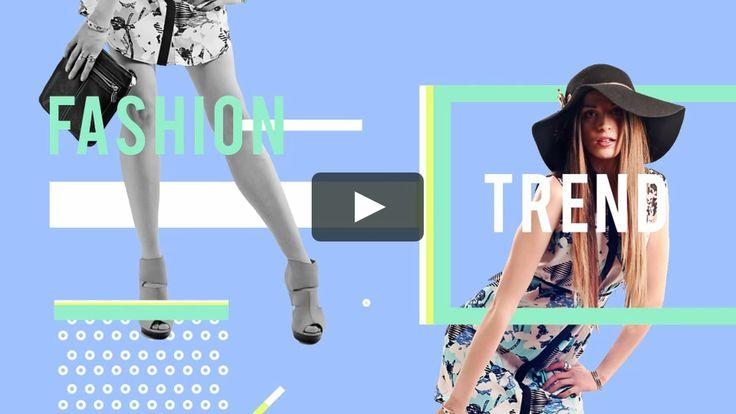 fashion style_title transition practice on Vimeo