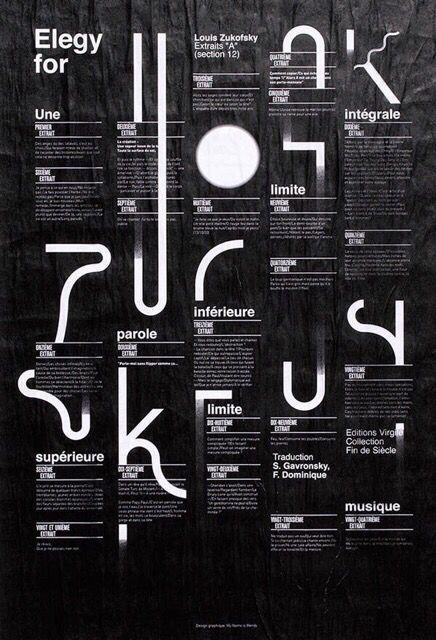 英文字體海報