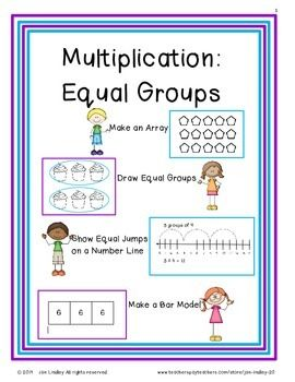 Printables Equal Groups Multiplication Worksheets 1000 images about times tables resources equal groups on these activities are designed to help students develop a deep understanding of multiplication as putting together included