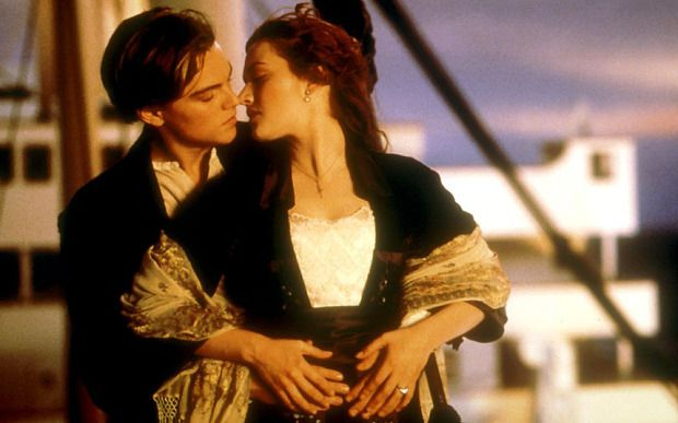 Titanic: Leonardo DiCaprio and Kate Winslet