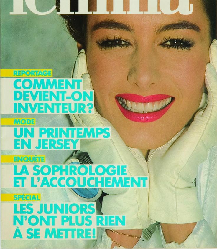 1980 - Magazine FEMINA, collection privée © Solo-Mâtine
