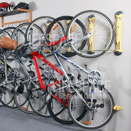 steadyrack wall mounted bike rack black bike storage. Black Bedroom Furniture Sets. Home Design Ideas