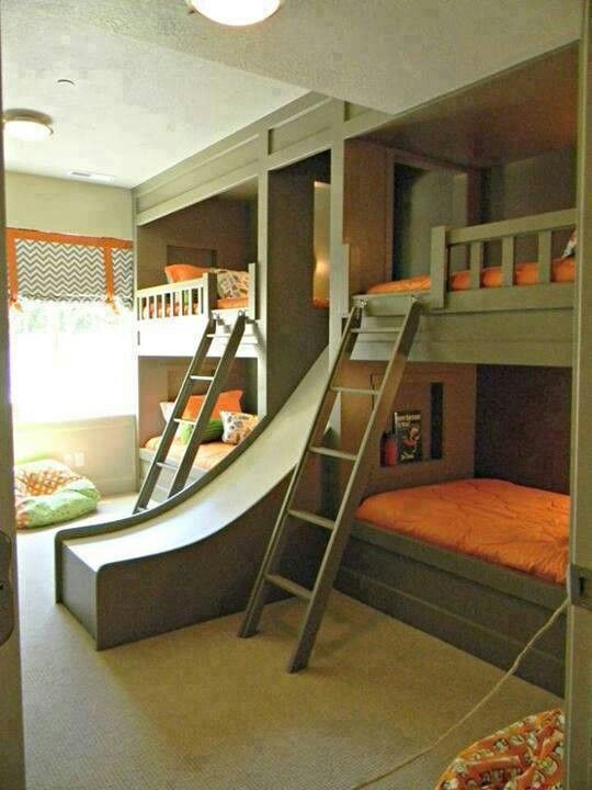 Love these bunk beds for the grandkids