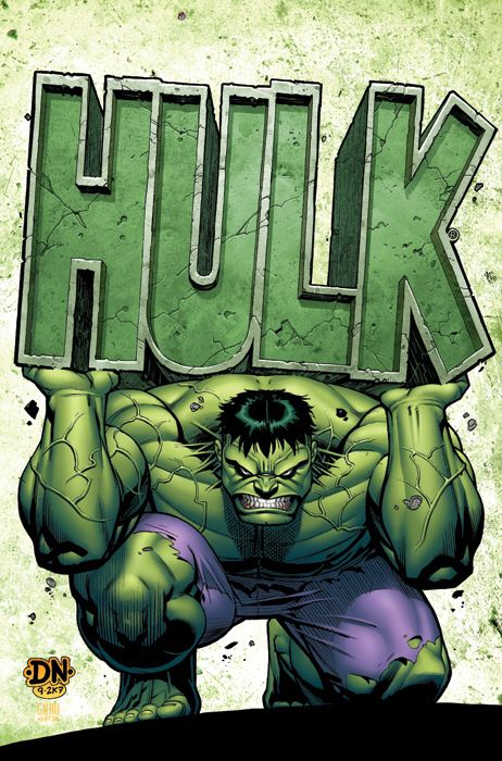 The Green Hulk.............