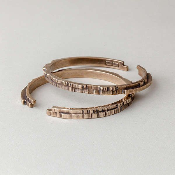 Inverted Gilded Jewelry - These FItzgerald Forbes Pieces Turn Your Style Inside-Out (GALLERY)
