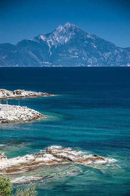 Seen Mount Athos but not set foot due to ridiculous laws about women