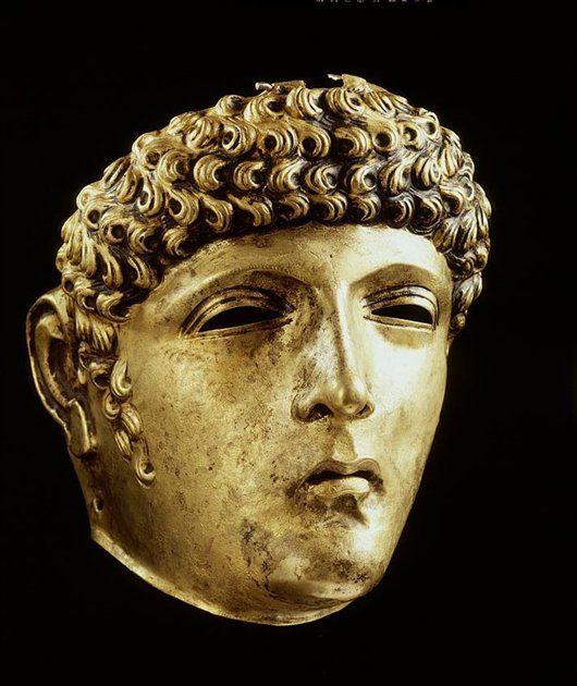 Romeins gezichtsmasker (ca. 100-200) - Geschiedenis van Zuid-Holland