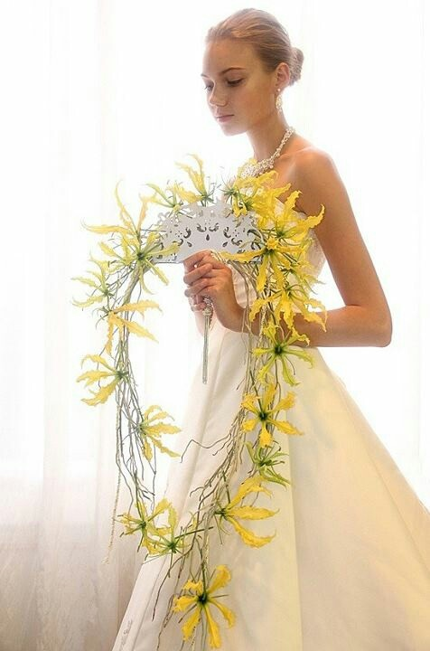 I Wonder How This Is Made Yellow Bouquetsfloral Bouquetsbridal