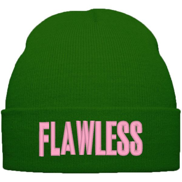 BEYONCE FLAWLESS BEANIE WINTER HAT ($20) ❤ liked on Polyvore featuring accessories, hats, hipster hat, urban hats, beanie cap hat, hipster beanie hat and hipster beanie