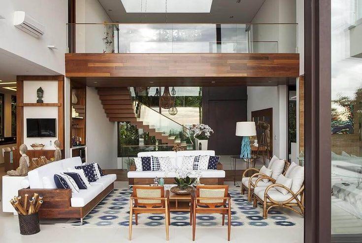 casas de campo sala de estar infinity spaces