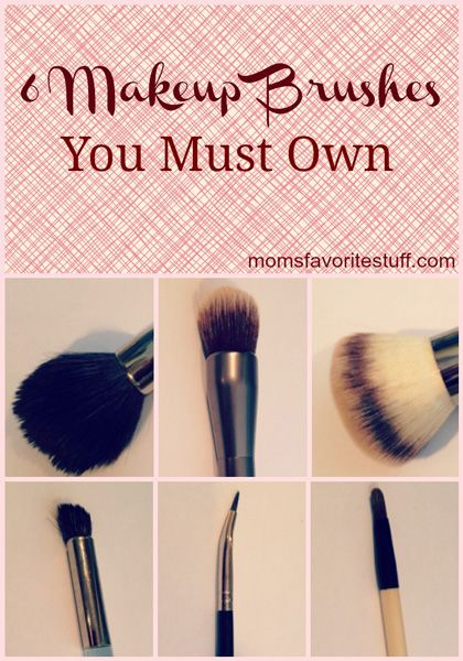 """Not sure which makeup brushes are absolute must-haves? Check out this great post about the """"6 essential Makeup Brushes You Must Own"""""""