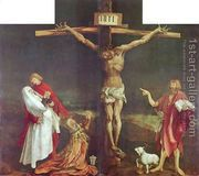 Crucifixion 1510-15  by Matthias Grunewald (Mathis Gothardt)