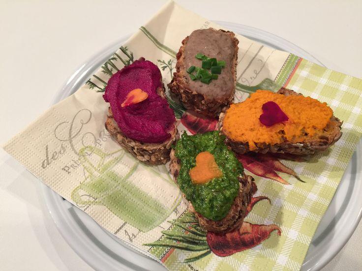 "Passend zu ""Kräuter der Provinz"" - der Pausensnack! A snack for the guests, in the theme of ""Herbs de province"", Petras newest book."