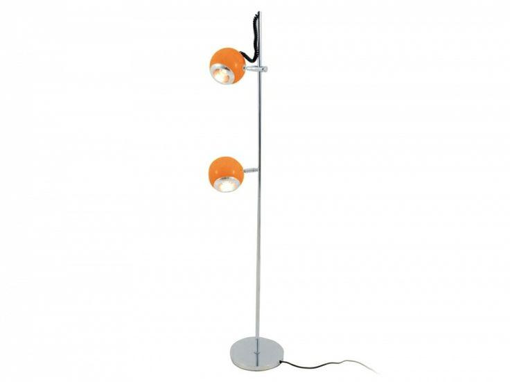 Retro 2 Coloured Light Floor Lamp