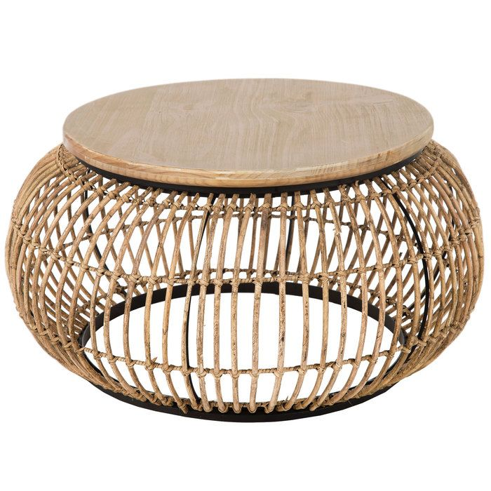 Rattan Round Coffee Table Apartment To Be In 2019 Round Coffee