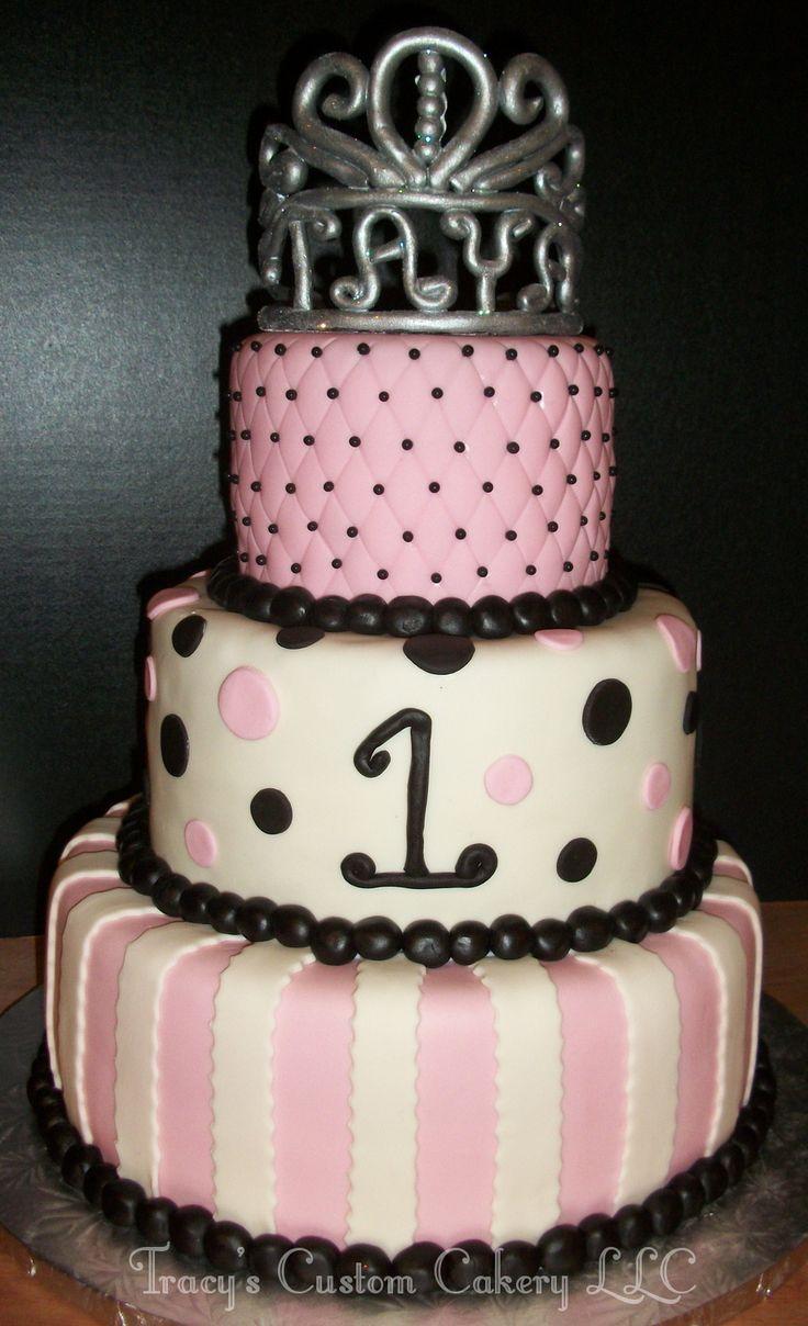 Princess 1st Birthday Cake