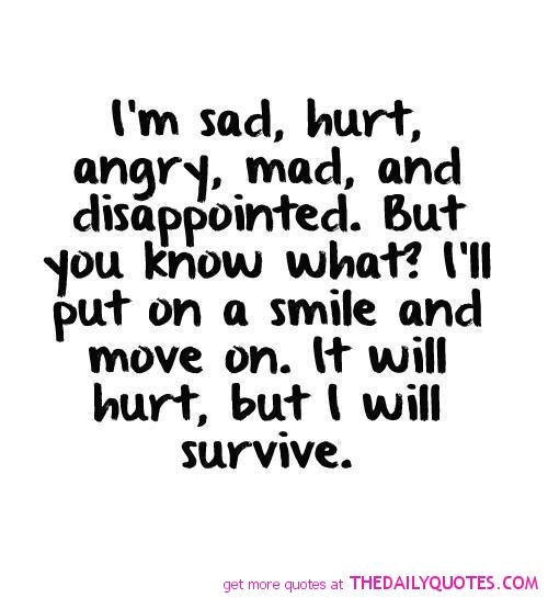 Quotes About Being Sad And Hurt: 1000+ Sad Quotes Hurt On Pinterest