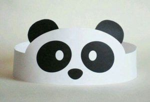 Panda bear craft idea for kids | Crafts and Worksheets for Preschool,Toddler and Kindergarten