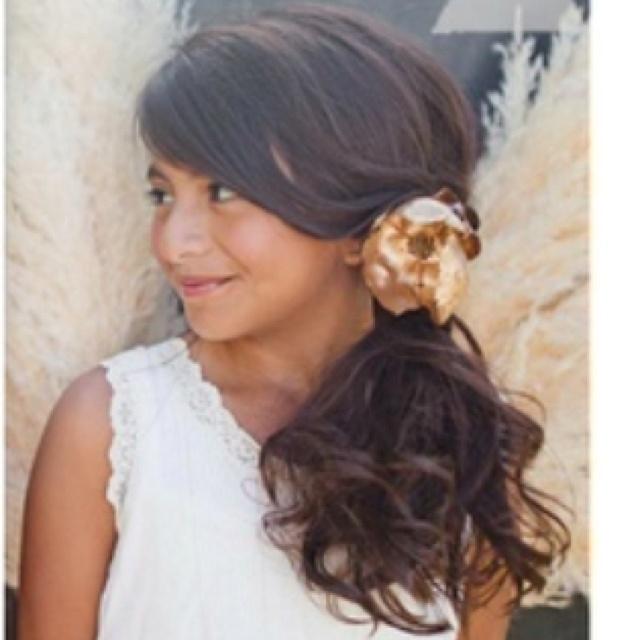 Strange 1000 Images About Flower Girl Hairstyles On Pinterest Updo Short Hairstyles Gunalazisus