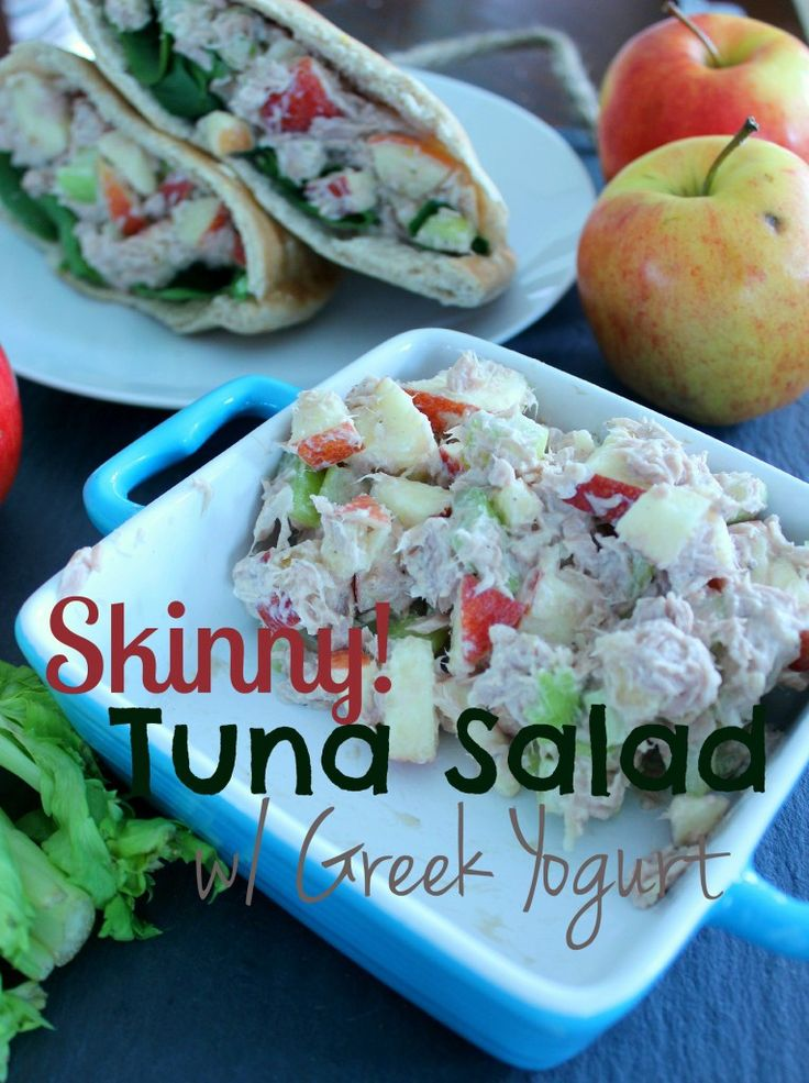 47 best brain food for growing kids images on pinterest brain food skinny tuna salad made with apples celery and greek yogurt forumfinder Image collections