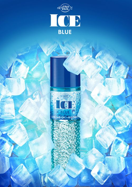 This how Winter feels: 4711 ICE Blue.
