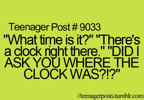 Ya and most of the time it's a non digital and then I sit their for 5 minutes trying in figure out the time!