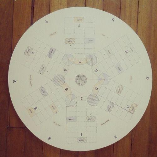 Parqués himallineishon. Pieza única. 47cm de diámetro #himallineishon #game #illustration #handmade #homedecor