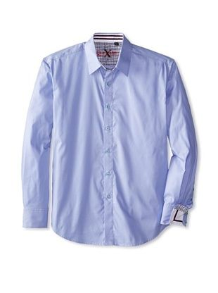 55% OFF Robert Graham Men's D.A. Long Sleeve Woven Shirt (Purple)