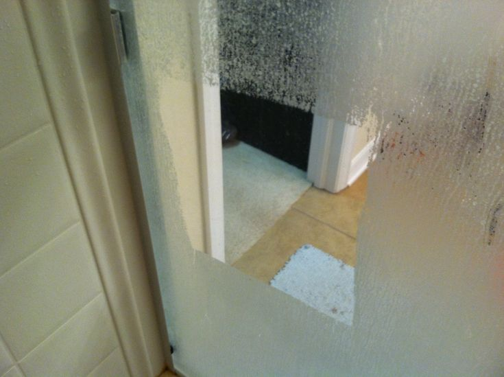 Get Rid Of Hard Water Stains On Glass Shower Doors