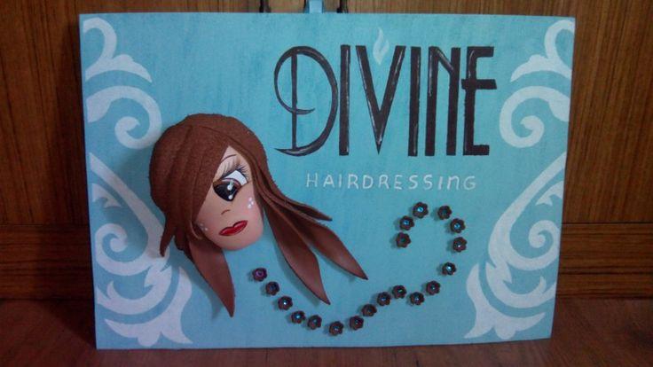Fofuchas laestrellarosae, cartel para peluqueria en gibraltar.