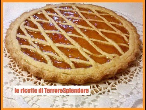 Crostata con marmellata di albicocche - YouTube