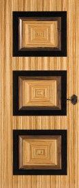 Zebrawood, Quarter Cut, Book Match, Box Match, Wenge Moldings, Designer Series: Code DS-005 Panels