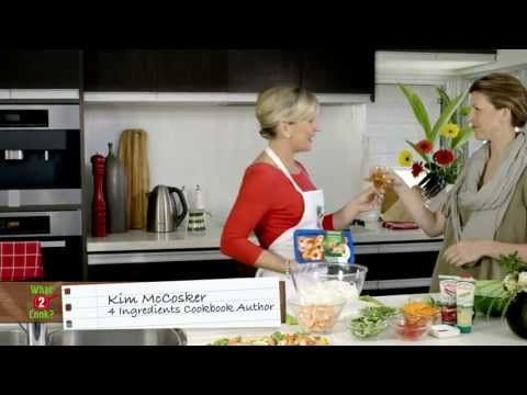 Kim's Fresh Thai Prawn Noodle Salad & Dip Recipe- What to Cook by What2Cook  Repin for later!